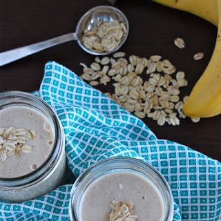 Peanut Butter and Banana Smoothies.