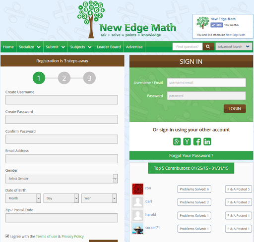 New Edge Math