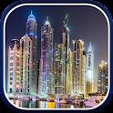 Dubai Night Live Wallpaper icon