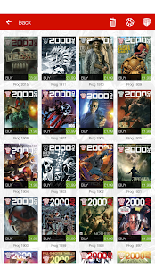 2000 AD Comics and Judge Dredd- screenshot thumbnail
