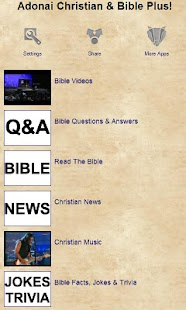 Adonai Christian & Bible Plus! - screenshot thumbnail