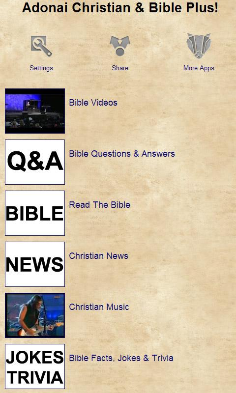 Adonai Christian & Bible Plus!- screenshot