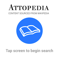 Screenshot of Attopedia for Android Wear