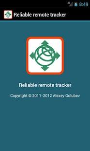 Reliable remote tracker- screenshot thumbnail
