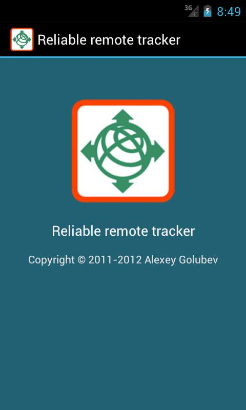 Reliable remote tracker- screenshot