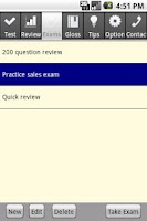 Screenshot of Real Estate Broker Exam Pro