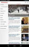 Screenshot of Mediafax.ro
