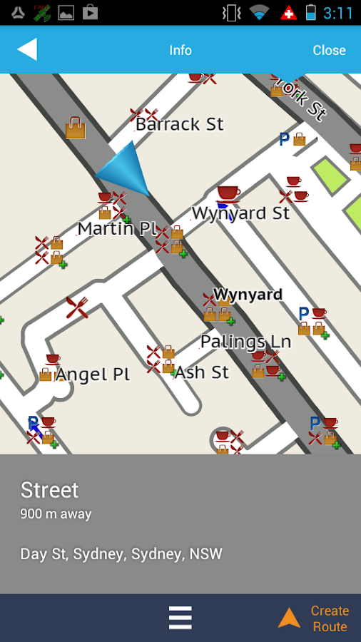 Navman SmartGPS AU & NZ- screenshot