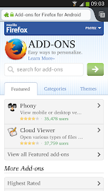 Firefox Beta Screenshot 1