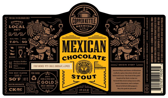 Logo of Copper Kettle Mexican Chocolate Stout
