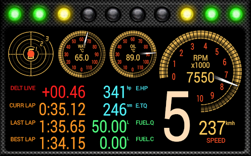 DashMeterPro for RBR - screenshot thumbnail