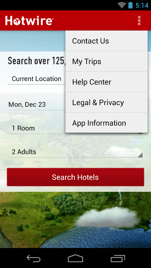 Hotwire - screenshot