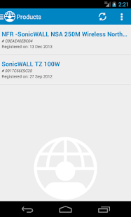 MySonicWALL- screenshot thumbnail