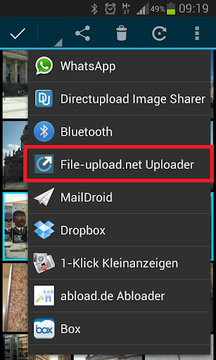 File-upload.net Uploader