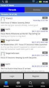 Focus ST Forum - screenshot thumbnail