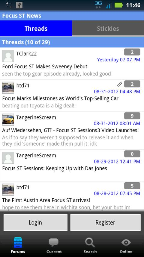 Focus ST Forum- screenshot