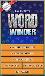 Word Winder- screenshot thumbnail
