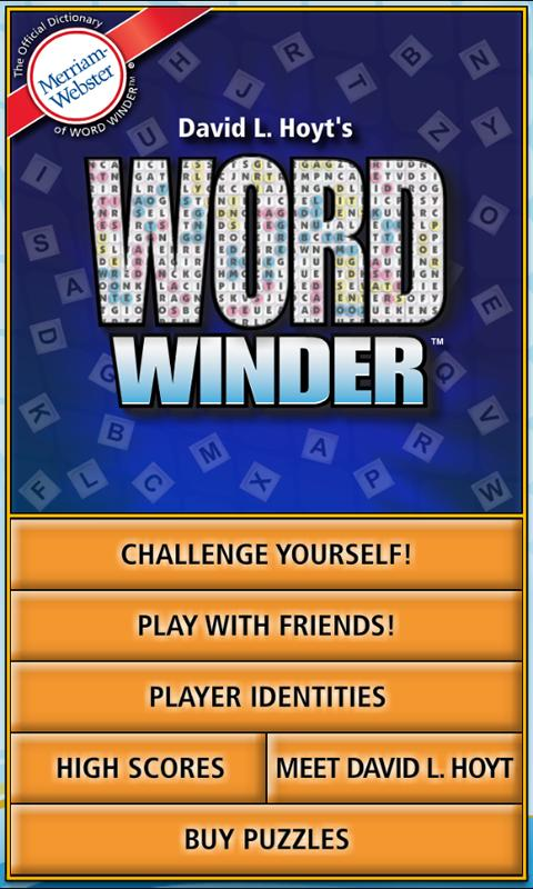 Word Winder- screenshot