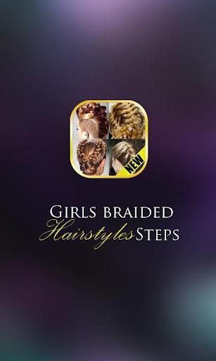 Girls Braided Hairstyles Steps