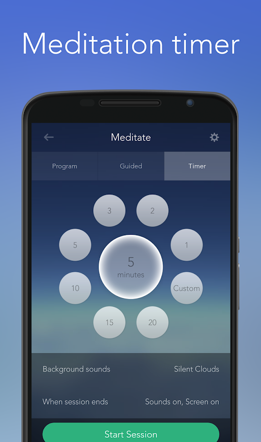 Calm - Meditate, Sleep, Relax - screenshot
