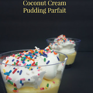 Coconut Cream Pudding Parfait