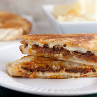 Italian Eggplant Grilled Cheese.