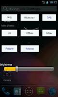 Screenshot of Wifi Bluetooth GPS Brightness
