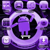 CYANOGEN PURPLE GO Theme