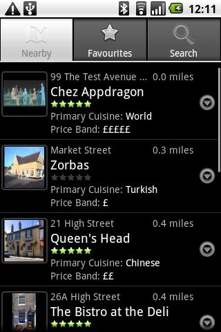 Eat@ Eat at Restaurant - screenshot
