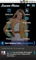 Screenshot of Lauren Alaina - Official