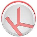 Kuroi Red - EvolveSMS Theme icon