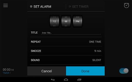 Alarm Clock 2.8.1 screenshot 47641