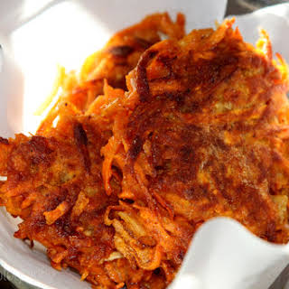 Sweet Potato Latkes - Gluten Free.