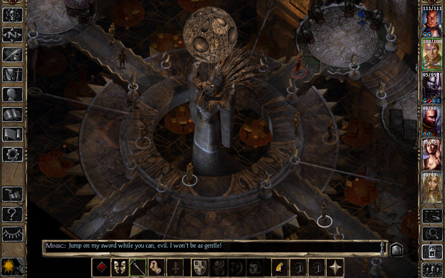 Baldur's Gate II- screenshot