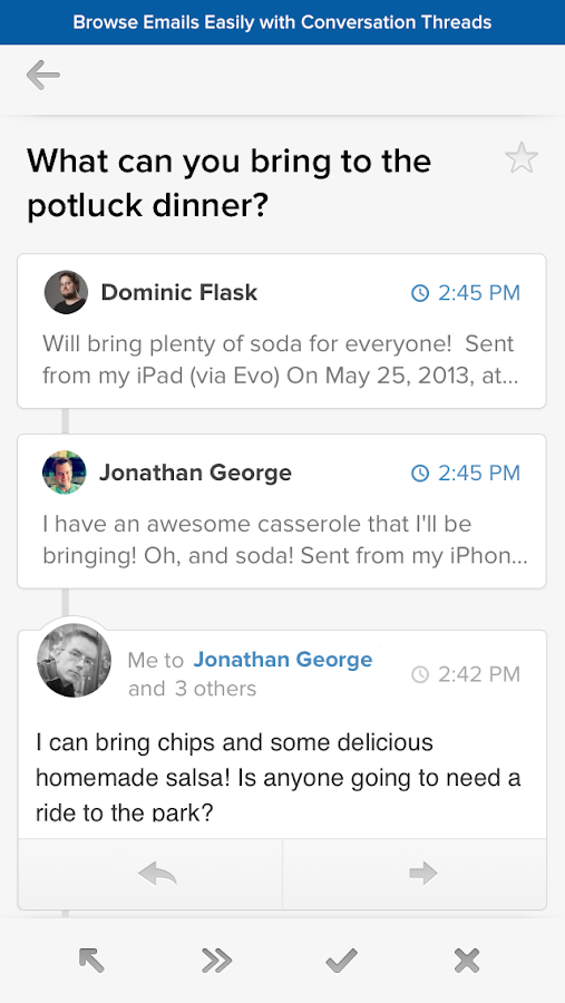 Evomail - Modern Mobile Email - screenshot