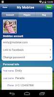 Screenshot of Mobitee GPS Golf Premium
