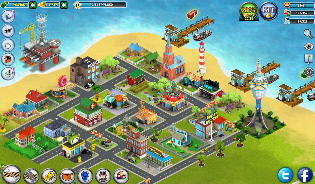 City island builder tycoon android apps on google play for Build a home online free