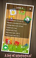 Screenshot of Animal Memory Game for Kids