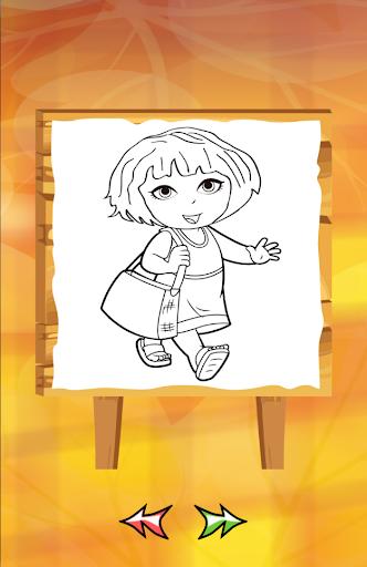 Dora Coloring for kids