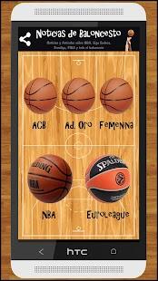 Noticias de baloncesto - náhled
