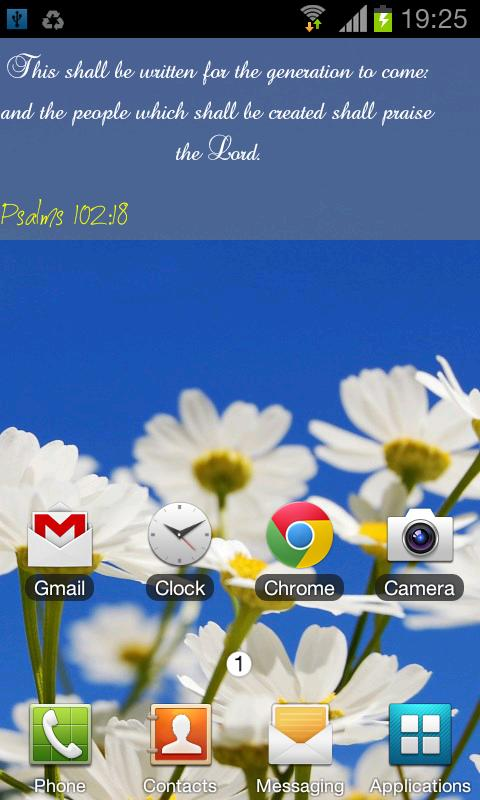Bible Live Wallpaper - screenshot