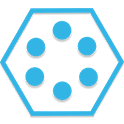 SL Theme Holo Blue Hexagon icon