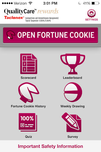 QualityCare™ rewards