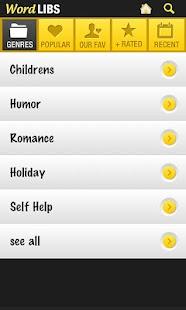 Word Blanks- screenshot thumbnail