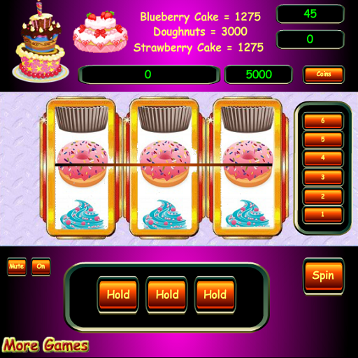 Extreme Cake Slots FREE SPINS
