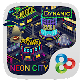 Neon City Dynamic Theme