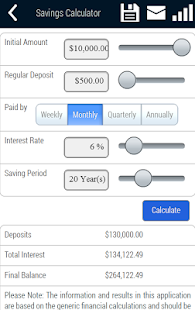 Savings Planner - screenshot thumbnail