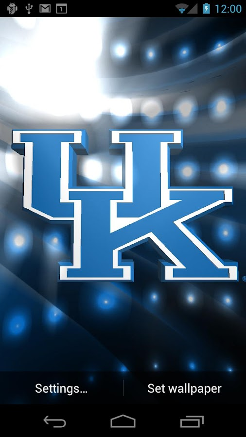 Kentucky Wildcats Pix & Tone - screenshot