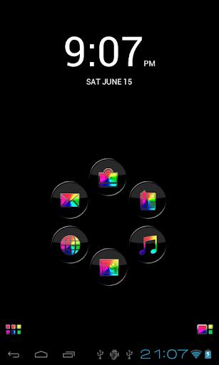 Smart Launcher Theme 主题彩虹 的智能