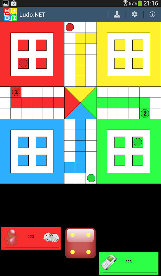Ludo.NET- screenshot